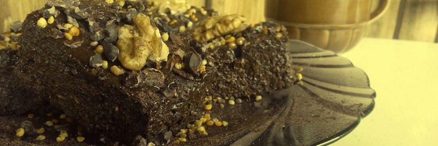 Сурово шоколадово брауни