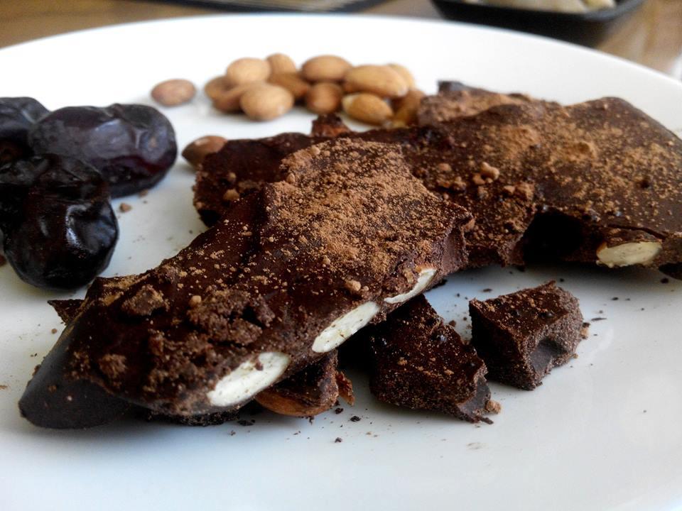 Домашен протеинов шоколад